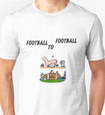 Football To Football T-Shirt