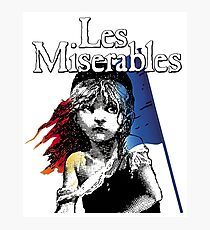 Miserables Musical Photographic Print