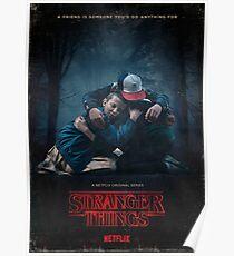 Stranger things Friends Poster