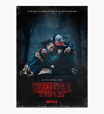 Stranger things Friends Photographic Print