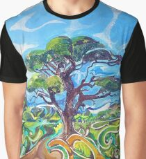 Magical Tree Painting Graphic T-Shirt