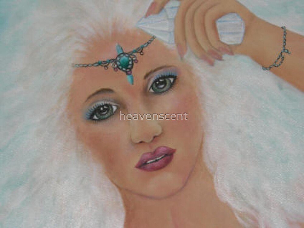 AZURA-atlantean water goddess by heavenscent