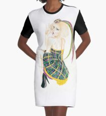 Lganja Estranja Graphic T-Shirt Dress