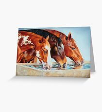 Drinking Buddies - Color Greeting Card