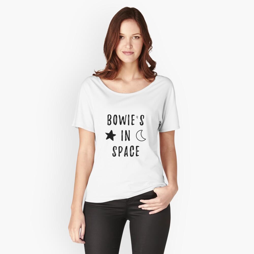 Bowie & # 39; s en el espacio Camiseta ancha