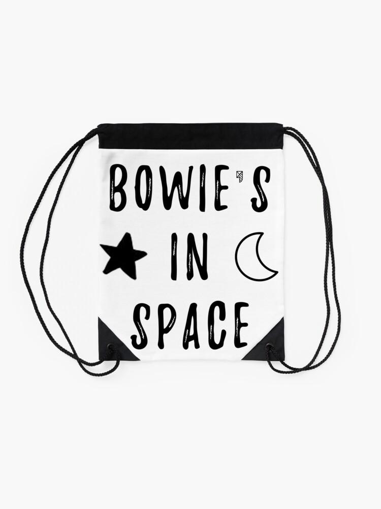 Vista alternativa de Mochila saco Bowie & # 39; s en el espacio
