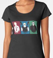 Camiseta premium para mujer Trilogía Cornetto