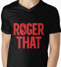 Roger That - Roger Federer Men's V-Neck T-Shirt