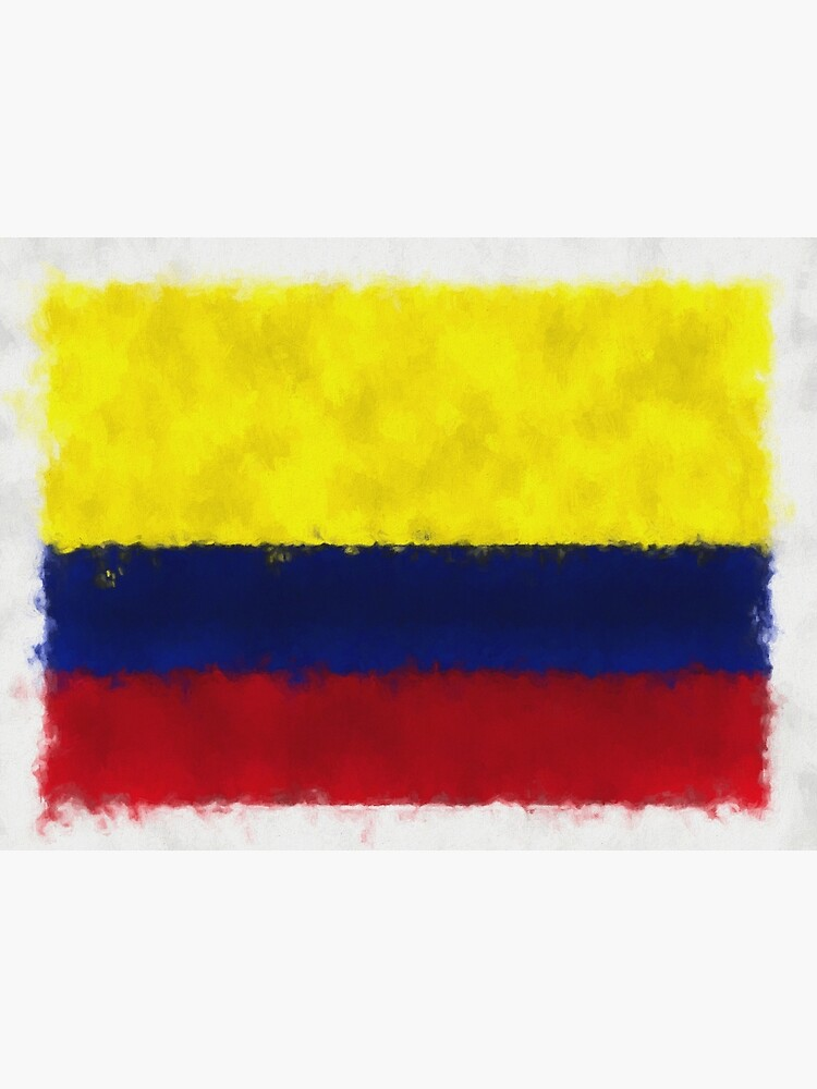 Colombia Flag Reworked No. 66, Series 5 by 8th-and-f