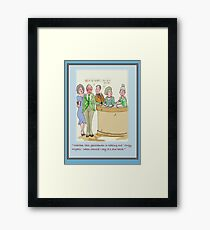Books Framed Print