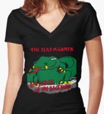 The Dead Femmes Women's Fitted V-Neck T-Shirt