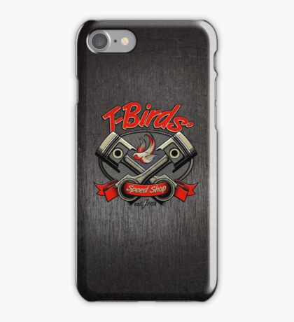 T-Birds' Speed Shop iPhone Case/Skin