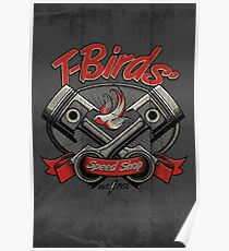 T-Birds' Speed Shop Poster