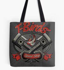 T-Birds' Speed Shop Tote Bag