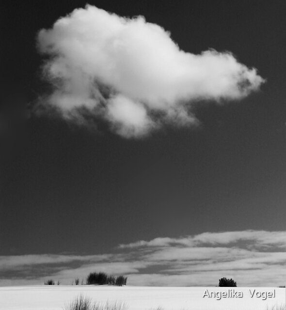 The White Cloud ... by Angelika  Vogel
