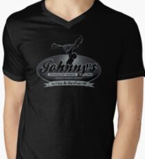 Johnny's School Of Dance Men's V-Neck T-Shirt