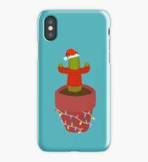 Christmas Cactus iPhone Case/Skin