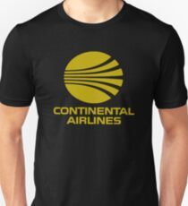 Continental Airlines USA Unisex T-Shirt