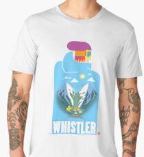 """Blue Bird"" Whistler Village Shirt Men's Premium T-Shirt"