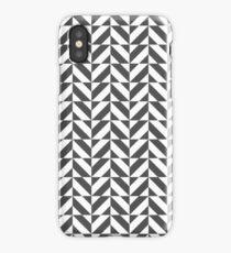 Geometric Black and White iPhone Case/Skin