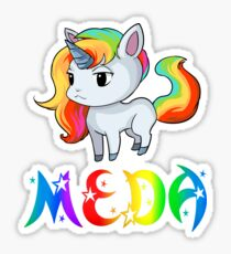 Meda Unicorn Sticker