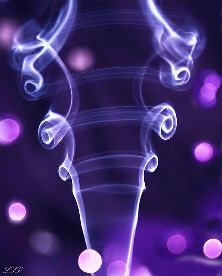 PURPLE Dazzler, Smoke Art by Kuzeytac