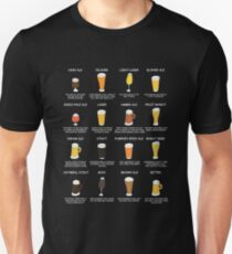 Beer Style Personality Chart - What Your Beer Says About You Unisex T-Shirt