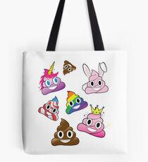 Silly Whacky Fun Poop Emoji Land Collection Tote Bag