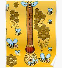 Keyblade Guitar #39 - Sweet Memories (Winnie Pooh World) Poster