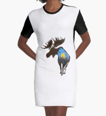 The End of the Day Graphic T-Shirt Dress