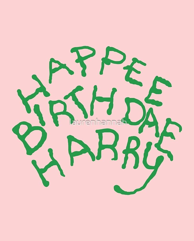 Happee Birthdae Harry by laurenhannah