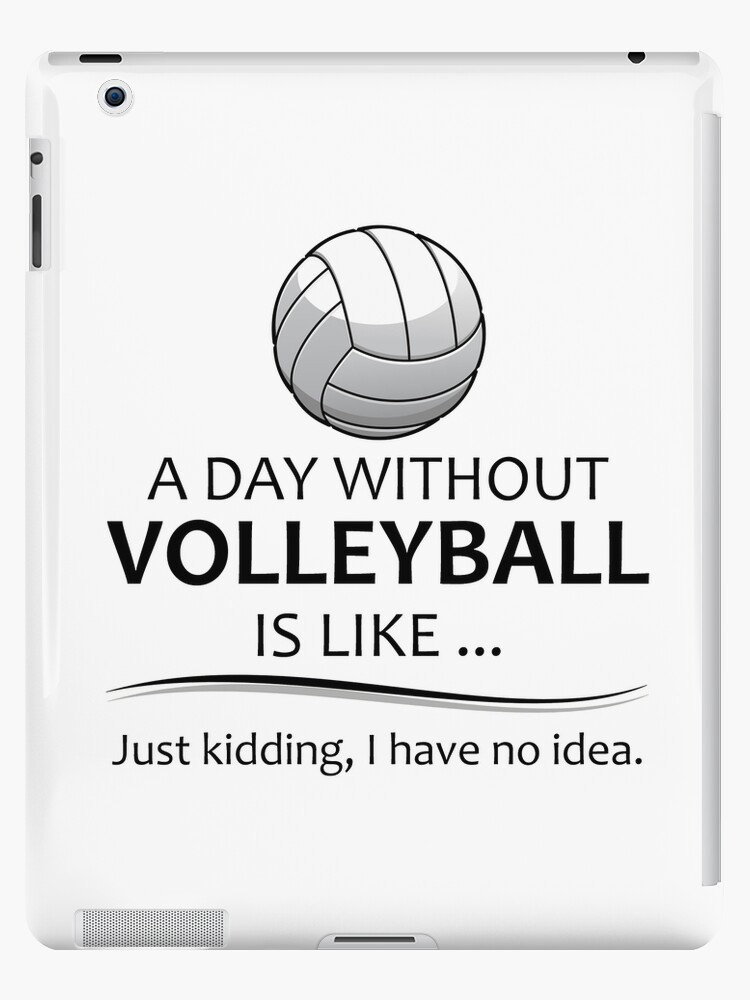 Volleyball Gifts For Coach And Players Ipad Caseskin By Merkraht