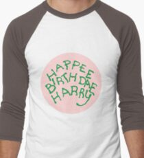 Happee Birthdae Harry - Circle T-Shirt