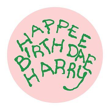 Happee Birthdae Harry - Circle by laurenhannah