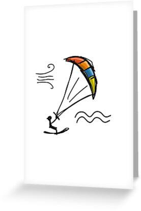 Kiteboarding by Kudryashka