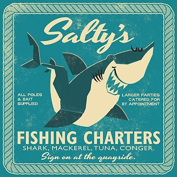 Salty's Fishing Charters by daviz