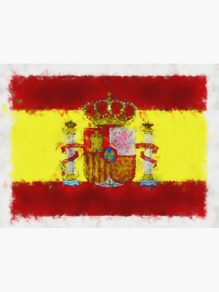 Spain Flag Reworked No. 66, Series 5 by 8th-and-f