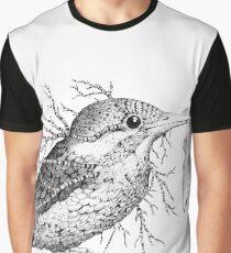 Leaf Kingfisher Graphic T-Shirt