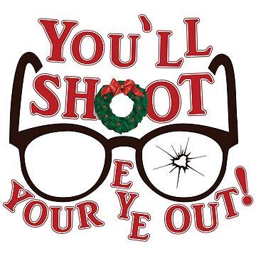 Du wirst dein Auge erschießen von graphicloveshop