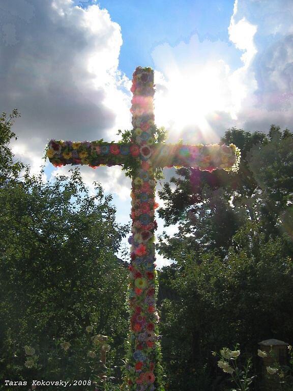 Holy cross by TarasKokovsky