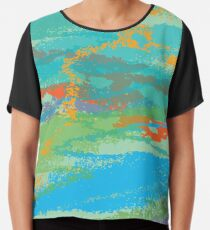 Party in the Sky Chiffon Top