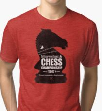 Shawshank Chess Comp Tri-blend T-Shirt