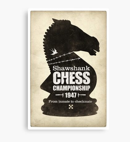 Shawshank Chess Comp Canvas Print