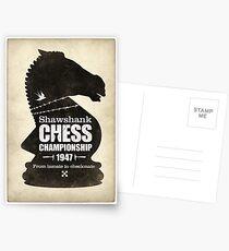 Shawshank Chess Comp Postcards
