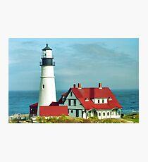 Portland Head Lighthouse Photographic Print