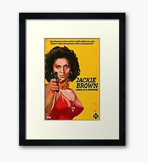 Jackie Brown Framed Print