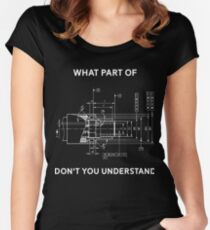 12d6110bf Funny Engineering T-Shirt - Mechanical Engineering T-shirt Fitted Scoop T- Shirt