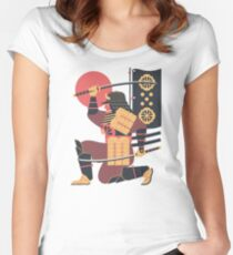 S is for Samurai Women's Fitted Scoop T-Shirt