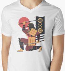 S is for Samurai Men's V-Neck T-Shirt