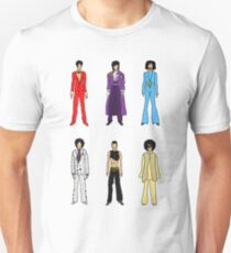 The Purple One Vertical on White T-Shirt